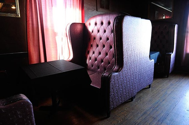 51st Street Speakeasy decor dates back to Prohibition. (Garett Fisbeck)