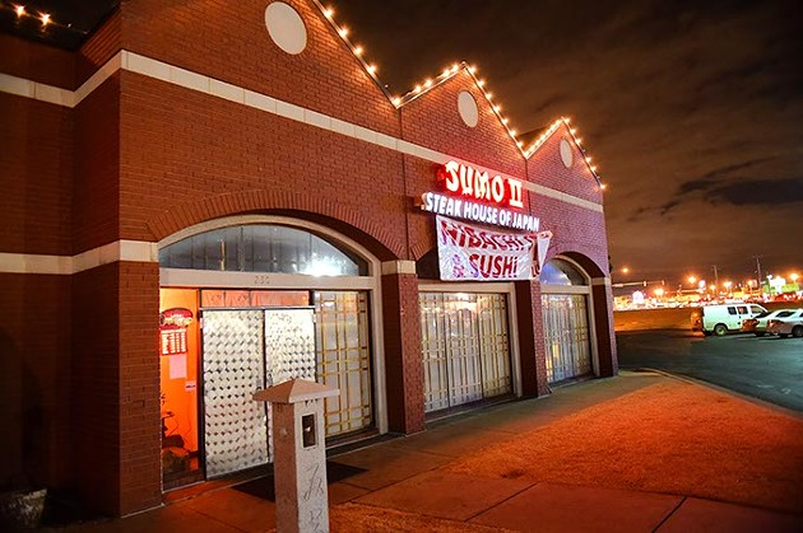 Sumo II Japanese Steak House, 7101 Northwest Expressway in Oklahoma City. - MARK HANCOCK