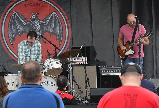 The Trading Company at The Bacardi Stage. - MARK HANCOCK