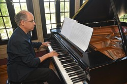 Edward Knight is an OCU professor of music and the composer of a piece to be played at Brightmusic Chamber Ensemble's Spring Music Festival. - MARK HANCOCK