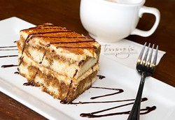Tiramisu at Tommy's is the perfect ending to an Italian dinner.Photo/Shannon Cornman - SHANNON CORNMAN