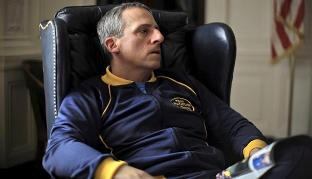 Steve Carrell takes a dramatic turn in Foxcatcher. - PROVIDED