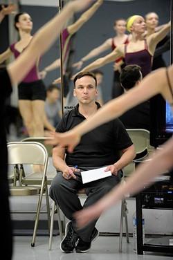 Artistic director Robert Mills during a rehearsal of the Nutcraker in Oklahoma City, Sunday, Nov. 21, 2014. - GARETT FISBECK