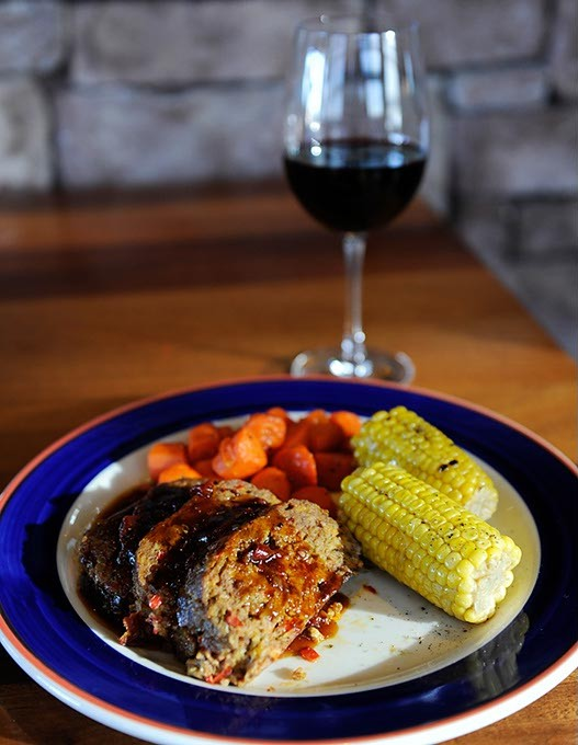 Meatloaf at Red Rock Canyon Grill in Oklahoma City, Thursday, Feb. 26, 2015. - GARETT FISBECK