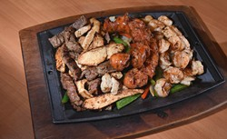 Parrilla, at Hidalgo's Cocina & Cantina in Edmond, Oklahoma, 1-19-16. - MARK HANCOCK