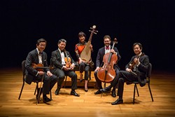 Wu Man and Shanghai String Quartet | Photo Ben Doyle / provided - PHOTO BY BEN DOYLE, RUNAWAY PRODUCTIONS LLC