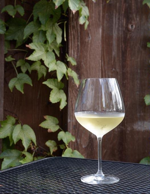 Glass of wine at Blu in Norman, Thursday, Oct. 6, 2016. - GARETT FISBECK