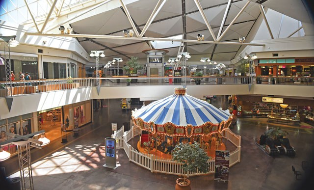 After a four-year rebranding effort to transform the shopping center into a Hispanic mall, Plaza Mayor will close at the end of the month. (Gazette staff/ file)