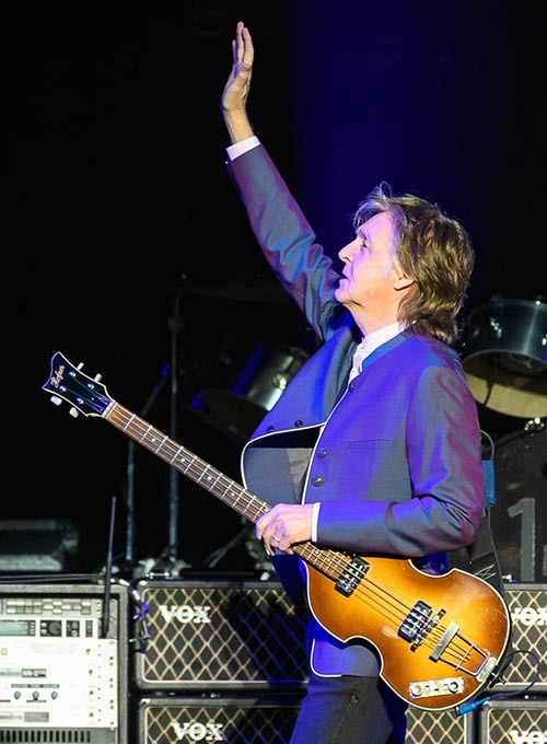 Paul McCartney performs at the Chesapeake Energy Arena, Monday, July 17, 2017. - ROB FERGUSON