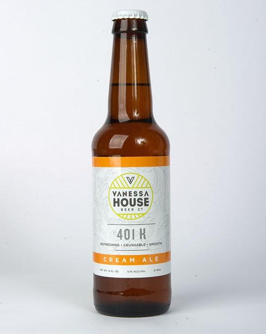 Vanessa House Beer Co. 401 K Cream Ale for Gazette Fall Brew Review 2016. - GARETT FISBECK