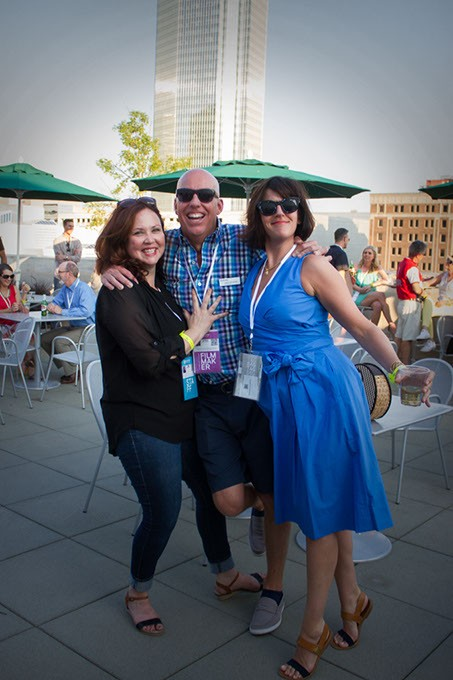 Deadcenter Film Festival, Opening Night Party, Oklahoma City Museum of Art rooftop, Oklahoma City, June 9 2016. - ERICK PERRY