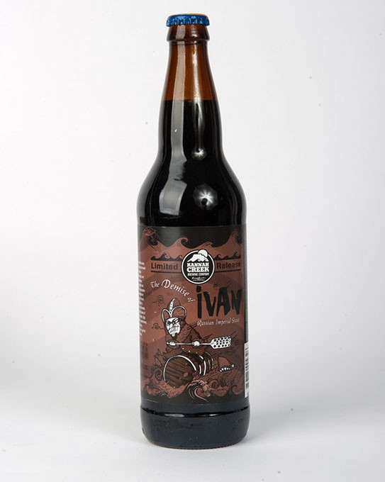 Kannah Creek Brewing Company The Demise of Ivan Russian Imperial Stout for Gazette Fall Brew Review 2016. - GARETT FISBECK