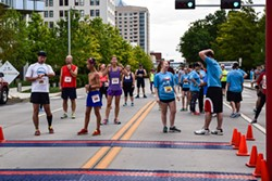 This year's OKC AIDS Walk includes 5K and 10K runs that start at 10 a.m. Sunday. (Blake N. Photography / AIDS Walk of Oklahoma City / provided)