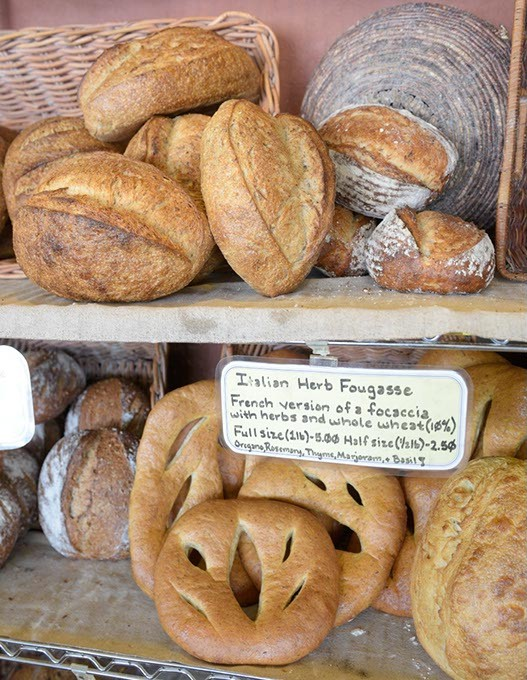 Fresh bread at Prairie Thunder Baking Company in Oklahoma City, Thursday, Aug. 11, 2016. - GARETT FISBECK