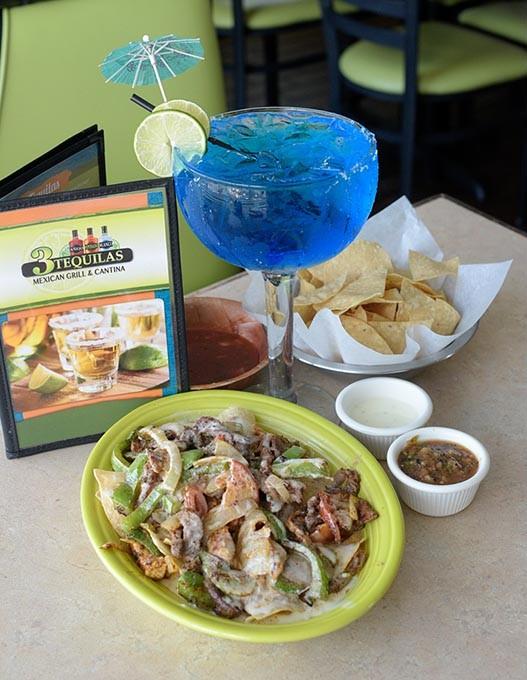 Super Fajita Nachos at 3 Tequilas Mexican Grill & Cantina in Edmond, Friday, Aug. 5, 2016. - GARETT FISBECK