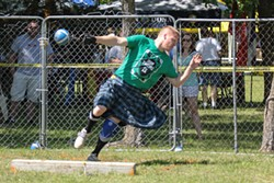 Highland games events run all day April 29-30 at Iron Thistle in Yukon. | Photo United Scottish Clans of Oklahoma / provided - JOHNNY HOLLAND