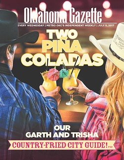 (Cover photo by Garett FIsbeck / Photo illustration by Christopher Street / (Garett Fisbeck / Western wear provided by Cavender's Western Wear, 6339 SW Third St. in Oklahoma City / Oklahoma Gazette)