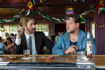 Ryan Gosling and Russel Crowe play Holland March and - Jackson Healy in The Nice Guys.   Photo Warner Bros. / provided - DANIEL MCFADDEN