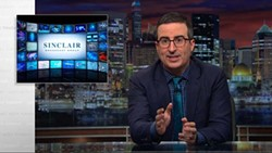 In July, HBO's Last Week Tonight with John Oliver devoted an episode to the proposed Sinclair/Tribune merger. (YouTube.com / provided)