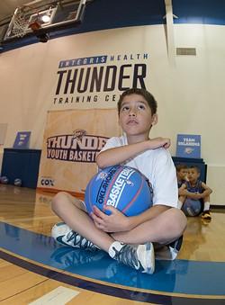 Photo Oklahoma City Thunder / provided - RICHARD ROWE 2014