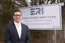 August Rivera, Executive Director at Eagle Ridge Institute, Monday, Feb. 27, 2017. - GARETT FISBECK