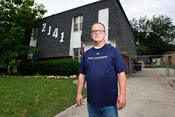 Cam Cox poses for a photo at the Kelham House, Tuesday, May 31, 2016. - GARETT FISBECK