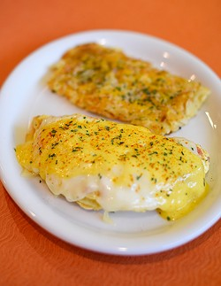 Eggington's Omelette at Eggington's in Edmond, Wednesday, March 9, 2016. - GARETT FISBECK