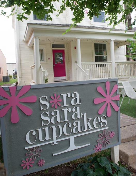 Sara Sara Cupcakes in Oklahoma City, Monday, July 11, 2016. - GARETT FISBECK