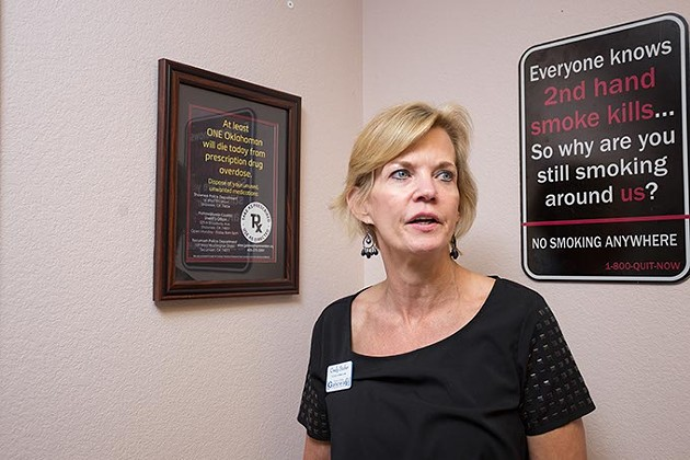 Clinical Director, Cindy Stober,  gives a tour of the Gateway Prevention and Recovery facilities on Wednesday, June 29, 2016 in Shawnee, Oklahoma. - EMMY VERDIN
