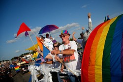 "OKC Pride's theme for 2017 is ""30 years of resistance."" The nonprofit organization is celebrating 30 years of Pride celebrations this year. - GARETT FISBECK / FILE"