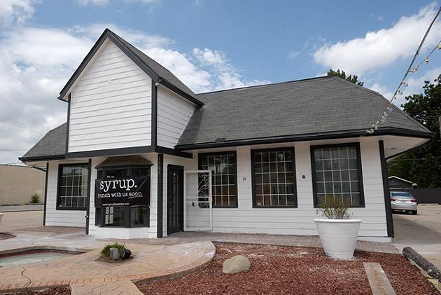 The new syrup. location on 23rd Street opens soon.   Photo Garett Fisbeck