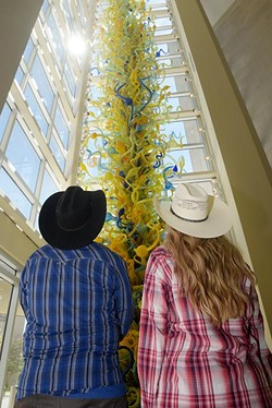 Oklahoma City Museum of Art (Garett Fisbeck / Western wear provided by Cavender's Western Wear, 6339 SW Third St. in Oklahoma City)