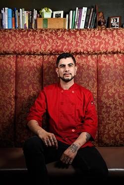 Head chef Jovanny Monreal created a daring prix fixe menu for Oklahoma City Restaurant Week at Saints Pub. (Garett Fisbeck)