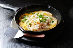 Garlic fried rice at Tamashii Ramen in Oklahoma City, Tuesday, June 14, 2016. - GARETT FISBECK