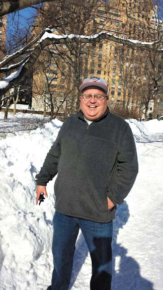 Mark Harris was 100 pounds overweight when he sought help to change his lifestyle. | Photo provided