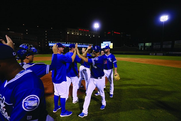 For Dodgers fans, this year's opener is a chance to run on last year's success: an American Northern Division title and Pacific Coast League playoff run. (Oklahoma City Dodgers / provided)