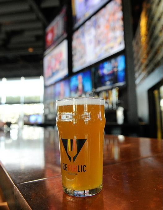 A pint of beer at Republic Gastropub in Oklahoma City, Friday, Feb. 12, 2016. - GARETT FISBECK