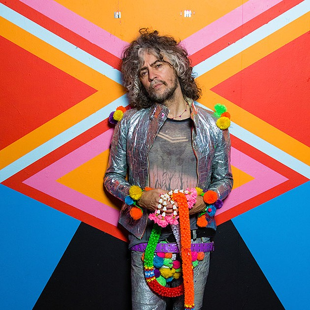 Wayne Coyne of the Flaming Lips - MANDATORY Photo Credit: George Salisbury - MANDATORY PHOTO CREDIT: GEORGE S
