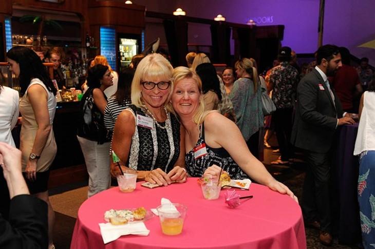 April Sandefer and friend Alicia Rambo