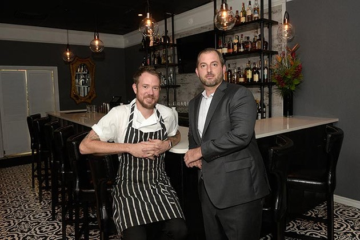 Jonathon Stranger and Drew Tekell opened St. Mark's Chop Room & Bar Aug. 8.