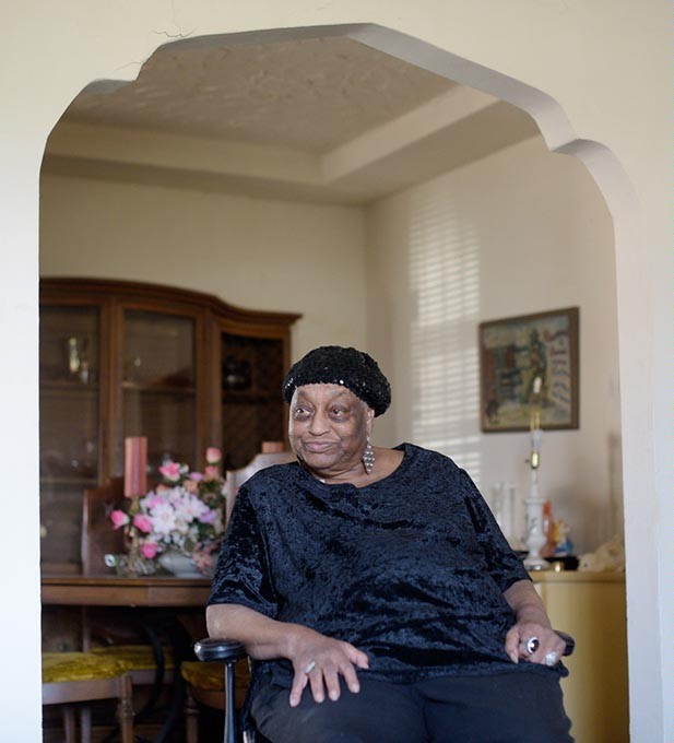 Dorothy Ellis will celebrate 75 years as professional blues singer Miss Blues in April 2018. (Garett Fisbeck)