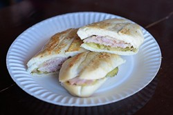 Cuban sandwich at Belle Kitchen, Friday, Jan. 27, 2017. - GARETT FISBECK