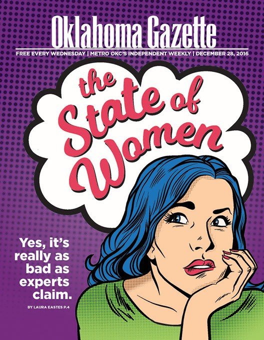 (Cover design Erin DeMoss / Oklahoma Gazette)
