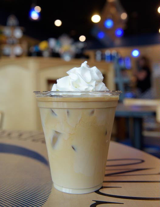 Iced latte at The Blue Bean Coffee Company in Moore, Thursday, Sept. 8, 2016. - GARETT FISBECK