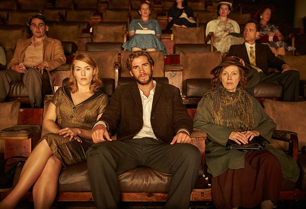 (l to r) Kate Winslet as Tilly Dunnage, Liam Hemsworth as Teddy McSwiney, and Judy Davis as Molly Dunnage in Jocelyn Moorhouse's THE DRESSMAKER        Credit: Ben King / Broad Green Pictures / Amazon Studios - BEN KING / BROAD GREEN PICTURES
