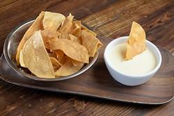 Queso and chips (Garett Fisbeck)