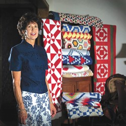 Quilt collector and author Judy Howard organized the exhibition inspired by her book. (Inasmuch Foundation Gallery / Oklahoma City Community College / provided)