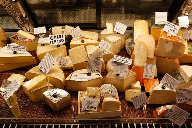 Cheese display at Forward Foods in Norman, Tuesday, Oct. 6, 2015. - GARETT FISBECK