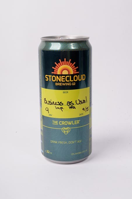 Stonecloud Brewing Co Business as Usual Imperial IPA for Fall Brew Review 2017. - GARETT FISBECK