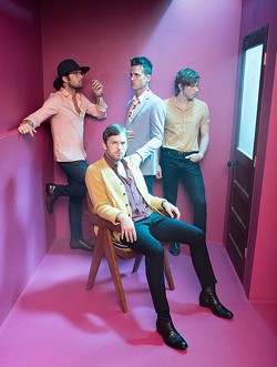 Kings of Leon plays at Chesapeake Energy Arena with Dawes on Oct.4.   Photo RCA / provided